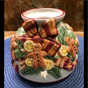 Yankee Candle Gingerbread Candle Jar Topper